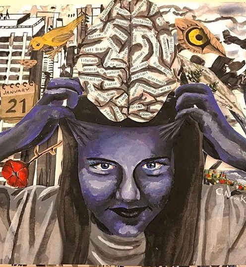 Brain Artwork - 2nd (cropped)